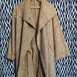 Jackets & Blazers - 🐺 Tan Burlap Coat 🐺